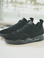 abordables -Homme Chaussures Polyuréthane Hiver Automne Confort Basket pour Décontracté Noir Gris Chameau