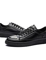 abordables -Homme Chaussures Polyuréthane Printemps Confort Basket pour Décontracté Blanc Noir Rouge