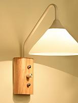 baratos -Antirreflexo Tradicional / Clássico Luminárias de parede Sala de Estar / Quarto Madeira / Bambu Luz de parede 220-240V 40W