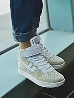 abordables -Homme Chaussures Tissu Hiver Automne Confort Basket pour Décontracté Noir Beige