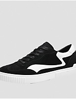 cheap -Men's Shoes Nubuck leather Spring Fall Comfort Sneakers for Casual Outdoor Black Gray Khaki