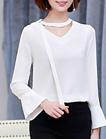 cheap -Women's Basic Blouse V Neck