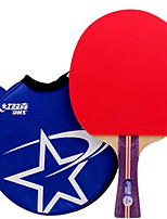 cheap -DHS® R1002 R1003 FL Ping Pang/Table Tennis Rackets Rubber 1 Star Long Handle Pimples