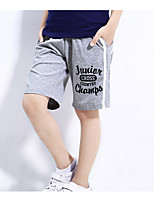 cheap -Boys' Solid Colored Shorts Spring Gray