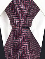 Недорогие -мужской партийный рабочий районный галстук - сплошной цветной жаккард