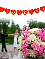 baratos -Casamento / Ocasião Especial De madeira Decorações do casamento Tema Jardim / Tema Asiático / Férias Todas as Estações