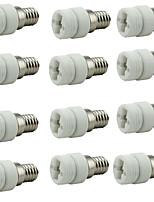 Недорогие -12шт E14 - G9 G9 Конвертер Аксессуары для ламп Световой разъем Керамика