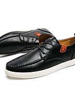 cheap -Men's Shoes PU Spring Fall Comfort Sneakers for Casual Outdoor Black Brown
