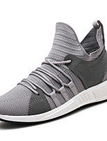 cheap -Men's Shoes Knit Spring Summer Comfort Sneakers for Casual Outdoor White Black Gray Red
