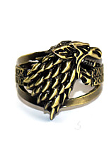abordables -Plus d'accessoires Inspiré par Game of Thrones Games Of Throne Manga Accessoires de Cosplay Bague Chrome