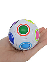 cheap -Rubik's Cube Football rubik's cube Magic Ball 6*6*6 Smooth Speed Cube Magic Cube Puzzle Cube Football Colors changing Mix Sports Football