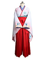 abordables -Inspirado por Kakegurui Cosplay Animé Disfraces de cosplay Trajes Cosplay Vestidos Otros Manga Larga Chaqueta Pantalones Lazo Cinta / Lazo