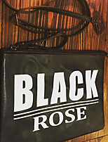 cheap -Men's Bags PU Clutch Zipper for Casual All Seasons Black