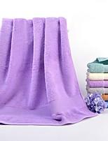 abordables -Style frais Serviette de bain Ensemble de serviette de bain, Couleur Pleine Qualité supérieure 100% Coton 100% coton Serviette