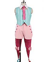 cheap -Inspired by Macross Frontier Cosplay Anime Cosplay Costumes Cosplay Suits Other Sleeveless Cravat Top Pants Bow More Accessories Hat For