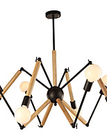 cheap -LightMyself™ Chandelier Ambient Light - Black & White, Traditional / Classic Modern / Contemporary, 110-120V 220-240V, Warm White White,