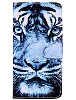 Недорогие -Кейс для Назначение Apple iPhone X iPhone 6 Бумажник для карт Флип С узором Чехол Животное Твердый Кожа PU для iPhone X iPhone 8 Pluss