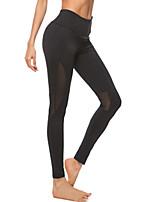 cheap -Women's Basic Sporty Legging Color Block High Waist