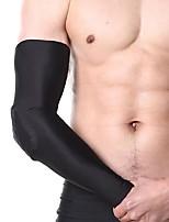 preiswerte -Ellenbogenstütze für Basketball Laufen Unisex Stoßfest Rutschfest Sport Outdoor Kleidung Hochwertiger EVA-Schaum 1 Stück Schwarz