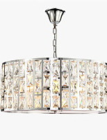 cheap -QIHengZhaoMing LED Chic & Modern Pendant Light Ambient Light - Crystal Eye Protection, 110-120V 220-240V Bulb Included