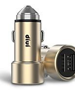 abordables -Chargeur pour auto Chargeur USB pour téléphone USB Sorties Multiples QC 2.0 2 Ports USB 3.1A DC 12V-24V