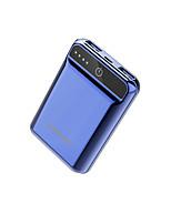 economico -10000mAh banca di potere della batteria esterna 5 Caricabatteria QC 2.0 LED