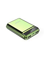 cheap -10000mAh Power Bank External Battery 5 Battery Charger QC 2.0 LED