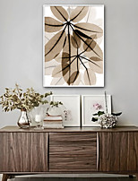 cheap -Floral/Botanical Botanical Illustration Wall Art, Plastic Material With Frame For Home Decoration Frame Art Living Room