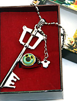 economico -Altri accessori Ispirato da Kingdom Hearts Sora Anime Accessori Cosplay 1 collana 1 anello Cromo