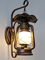 cheap -Vintage Wall Lamps & Sconces For Pathway Hallway Metal Wall Light 220-240V 20W