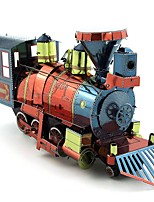 cheap -3D Puzzles Metal Puzzles Creative Focus Toy Hand-made Metal Vehicles Standing Style Toy Train Girls' Boys' Gift