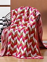 cheap -Other Accessories, Reactive Print Geometric Cotton Blankets
