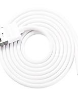 Недорогие -Подсветка Адаптер USB-кабеля Быстрая зарядка Высокая скорость Кабель Назначение iPhone 100 cm ПВХ