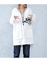 abordables -Tee-shirt Femme,Lettre Chic de Rue Col en V Ample