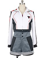 cheap -Inspired by Macross Frontier Cosplay Anime Cosplay Costumes Cosplay Suits Other Long Sleeves Coat Top Pants More Accessories For Men's