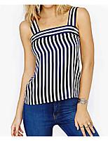 cheap -Women's Basic Blouse - Striped Strap