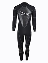 cheap -YON SUB Men's 1.5mm Full Wetsuit Sailing Neoprene Diving Suit Long Sleeves Diving Suits All Seasons Fashion