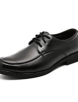 cheap -Men's Shoes Cowhide Spring Fall Comfort Oxfords for Office & Career Black
