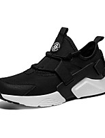 cheap -Men's Shoes Tulle Spring Summer Comfort Sneakers for Casual Outdoor White Black Black/White