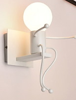 cheap -Anti-Glare Modern / Contemporary Wall Lamps & Sconces Living Room Metal Wall Light 220-240V 40W