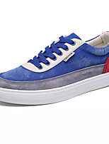 cheap -Men's Shoes PU Spring Fall Comfort Sneakers for Casual Black Gray Royal Blue