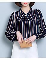 cheap -Women's Vintage Blouse-Striped