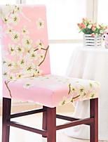 abordables -Moderne 100% Polyester Jacquard Housse de chaise, simple Fleur Imprimé Literie