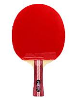 Недорогие -DHS® R4002-R4003 Ping Pang/Настольный теннис Ракетки Дерево Ластик 4 Звезд Длинная рукоятка Прыщи