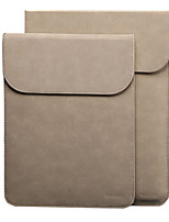 cheap -Sleeves for Solid Color PU Leather Macbook Pro 13-inch