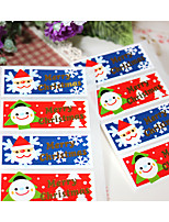 cheap -Holiday Stickers, Labels & Tags - 4 Christmas Rectangle Stickers All Seasons