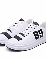 cheap -Men's Shoes PU Spring Fall Comfort Sneakers for Casual White Black Green