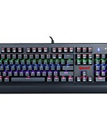 cheap -REDRAGON K557RGB Wired Cable RGB Backlit Blue Switches 104 Ergonomic Keyboard Gaming Keyboard Portable Comfy Spill-Resistant Backlit