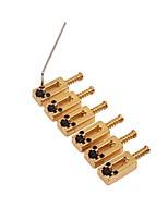 cheap -Professional Accessories High Class Guitar New Instrument Metalic Musical Instrument Accessories 3.5*1.1*0.56