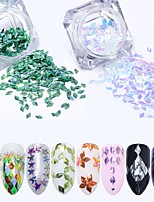 cheap -8pcs Nail Glitter Sequins Elegant & Luxurious Sparkle & Shine Decorations Nail Art Design